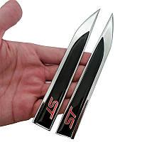 3D эмблема  ST на крыло:  комплект 2шт, фото 1
