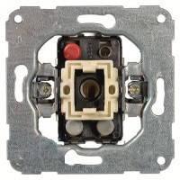 Механизм выключателя однотактовый с самозажимными клеммами Hager Fiorena