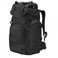 Рюкзак тактичний A51 чорний, 50 л