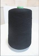 Бобинная пряжа 0005 23003 черный Color 099 917 грамм. Цена за бобину Brave