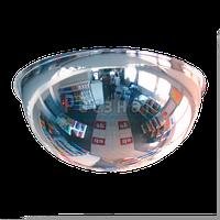 Зеркало купольное Megaplast 800x360 для осуществления кругового наблюдения в помещениях