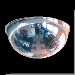 Зеркало сферическое Megaplast 800x360.