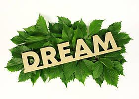 "Слово деревянное ""Dream"""