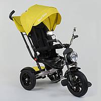 Трехколесный велосипед Best Trike желтый