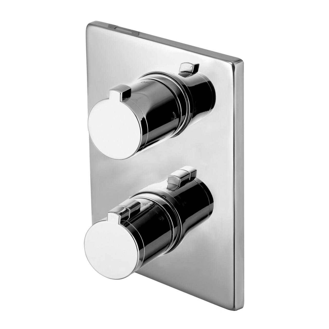 Смеситель термостат скрытого монтажа Imprese Centrum VRB-10400Z (3 потребителя)