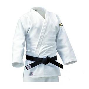 Кимоно для дзюдо Mizuno Yusho Best IJF Белое 5A1801, фото 2