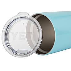 Термокружка YETI Rambler Tumbler 20 OZ Голубой, фото 3