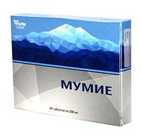 Мумие Фармгрупп 0,2 г 60 таблеток  (4640001380976)