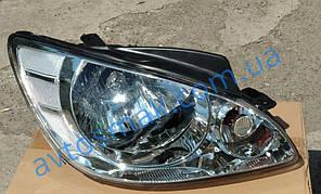 Фара передняя для Hyundai Getz '06- правая (DEPO) механическая