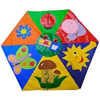 Детский дидактический коврик Полянка, фото 1