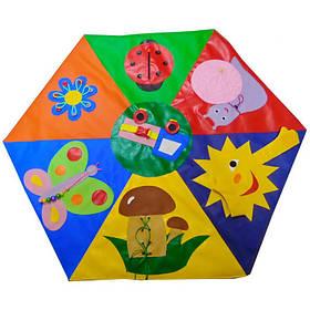 Дитячий дидактичний килимок Полянка