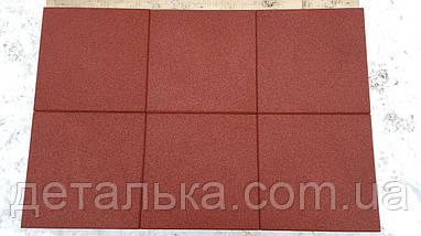 Резиновая плитка 500*500 мм. толщиной 20 мм., фото 2
