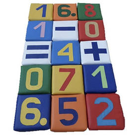Детский набор матов Юный математик