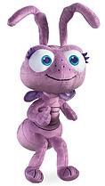 Мягкая игрушка муравей Принцесса Дора - Приключения Флика - Disney Dot - A Bug's Life, 35 см