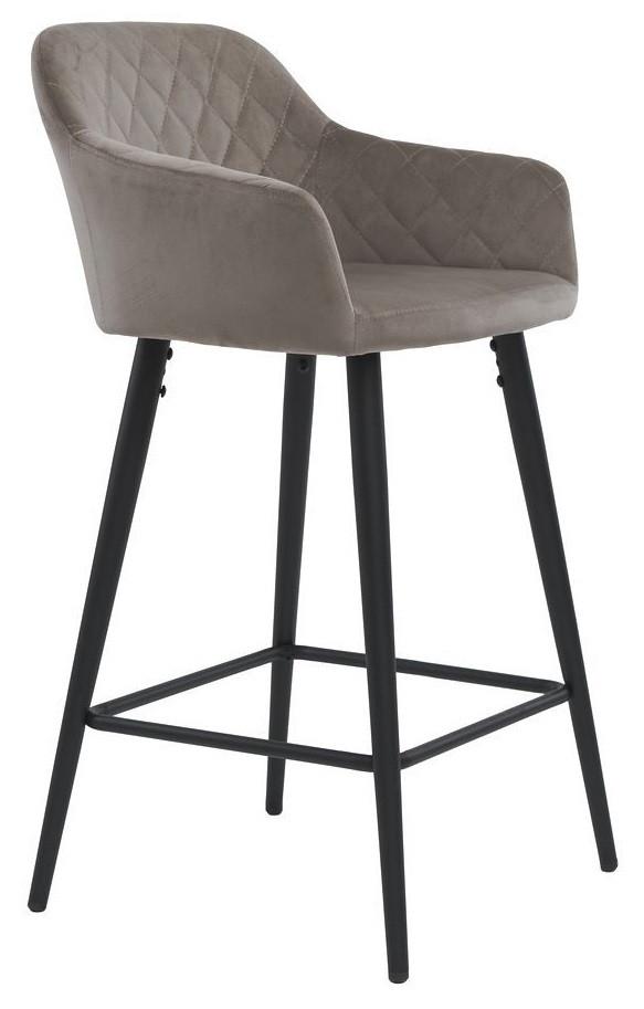 Стул полубарный  Antiba пудровый серый TM Concepto