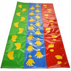 Игровой детский коврик Следы