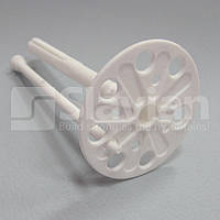 Дюбель крепления теплоизоляции 10х200мм, пластиковый гвоздь (Премиум), фото 1