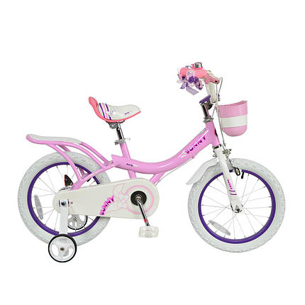 """Велосипед детский RoyalBaby  JENNY -BUNNY  16"""", OFFICIAL UA, розовый, фото 2"""