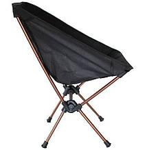 Крісло доладне туристичне Tramp Compact TRF-060 (500х480х680мм), чорне