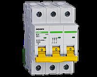 Модульные автоматические выключатели, серия Ex9BH