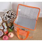 Термо сумка Сумка холодильник. Холодильна сумка + акумулятор в подарунок., фото 4