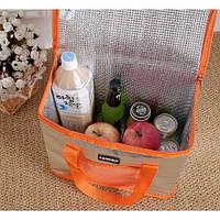 Термо сумка (оранжевая) с аккумулятором в подарок. Супер цена, фото 1