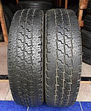 Шины б/у 165/70 R14С Michelin Agilis, ЛЕТО, пара, 5 мм