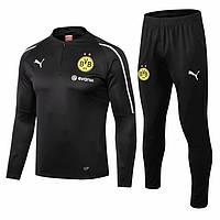 Мужской тренировочный костюм Borussia, черный