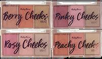 Ruby Rose Pinky Cheeks палетка румян НВ-6111, фото 1
