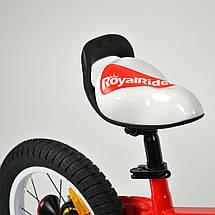 """Велосипед детский RoyalBaby HONEY 14"""", OFFICIAL UA, красный, фото 3"""