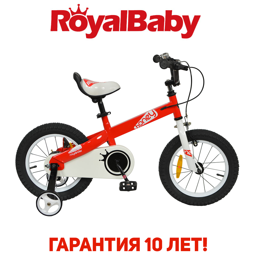 """Велосипед детский RoyalBaby HONEY 14"""", OFFICIAL UA, красный"""