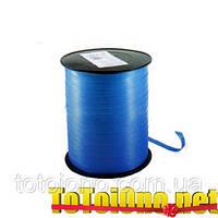 Тесьма, лента синяя 0.5 см х 500 метров