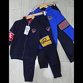 Детские спортивные трикотажные костюмы для мальчиков  оптом GRACE