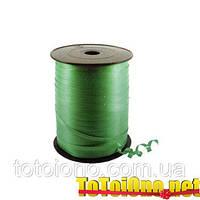Ленточка для шариков зеленая 0.5 см х 500 метров