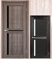 Межкомнатные двери Корфад модель SC-04 цвет дуб грей и венге