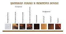 """Люстра деревянная балка  """"Адель"""" светлая полированная  на 4 лампы, фото 2"""