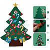 Детское дидактическое панно Новогодняя ёлка