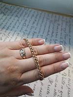 Золотой браслет 585 пробы (Бисмарк), фото 1