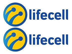 Красива пара номерів 0Y37890123 і 0X37890123 lifecell, lifecell