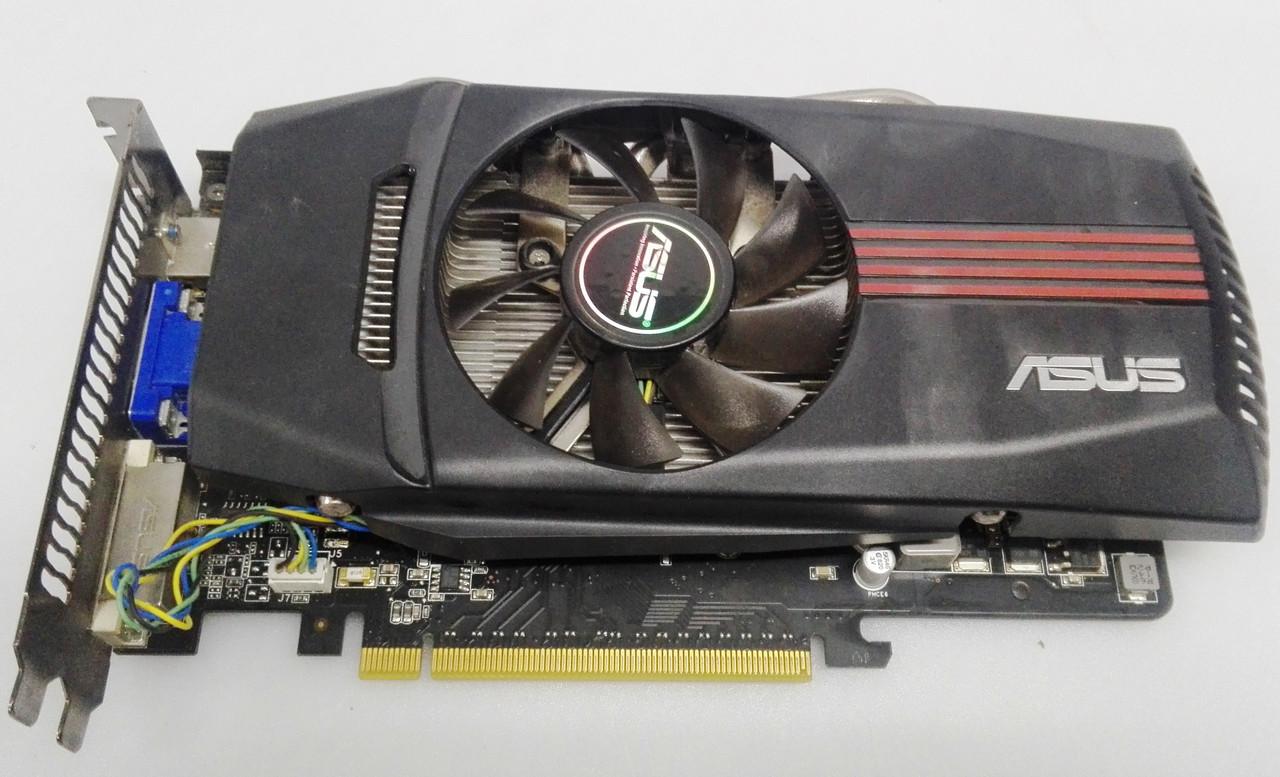 Видеокарта Asus GeForce GTX 550 Ti 1гб GDDR5 (192bit) (910/4104) (VGA, DVI, HDMI)