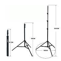 Штатив, Тринога 3 м. для лазерного уровня, фото, света