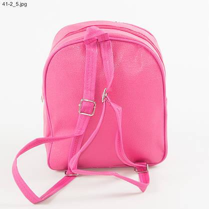 Детский рюкзачок ЛОЛ с пайетками - №19-41-2 - Малиновый, фото 3