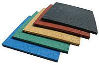 Тротуарная резиновая плитка 400*400 мм. толщиной 30 мм.