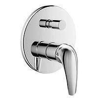 Смеситель для ванны и душа скрытого монтажа Imprese Krinice VR-10110(Z)