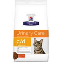 Hill`s PD Feline C/D - лечебный корм для кошек (курица)