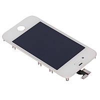 Модуль (Дисплей + сенсор + рамка) Apple iPhone 4S  white s/k