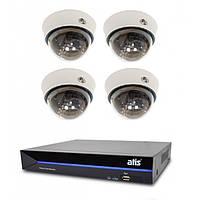 Комплект видеонаблюдения ATIS Starter Kit IP 4int