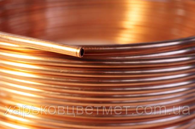 4,0 х 1,0 Труба медная мягкая М1, фото 2