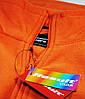 Мужской флис S, Оранжевый, фото 2