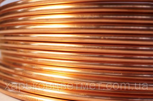6,0 х 1,0 Труба медная мягкая М1, фото 2